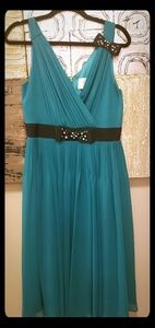 Kate Spade Jeweled Dress - Green - Size 8